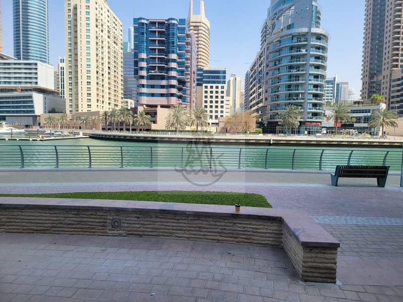 Marsa Dubai Marina Wharf 1 | Shell & Core Shop  Size 1289 Sq ft | For Rent
