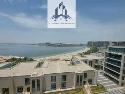 فلیٹ 4 غرف نوم للايجار في شاطئ الراحة، أبوظبي - DUPLEX apartment 4BHK with SEA VIEW