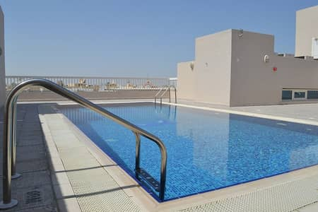 1 Bedroom Apartment for Rent in Dubai Residence Complex, Dubai - Stunning Large One Bedroom in Skycourt Tower @26K