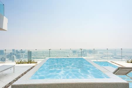 2 Bedroom Hotel Apartment for Sale in Jumeirah Village Circle (JVC), Dubai - Fully Furnished Hotel Apt| Private Pool|Sky Garden
