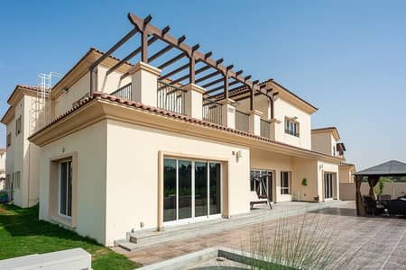 5 Bedroom Villa for Sale in Jumeirah Golf Estate, Dubai - Exclusive Upgraded Vacant On Transfer Furnished