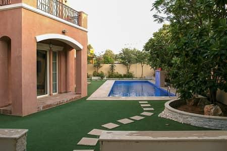 فیلا 4 غرف نوم للبيع في المرابع العربية، دبي - Amazing Location| Fully Renovated | with Pool View