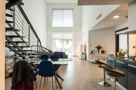 Duplex apartment with bright sunlight for sale