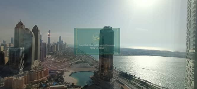 فلیٹ 2 غرفة نوم للايجار في منطقة الكورنيش، أبوظبي - Stunning! Fully Furnished! Sea View 2BR on Corniche