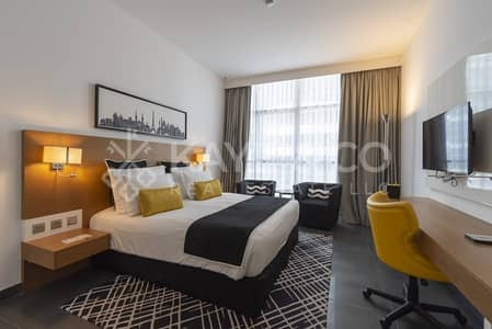 Hotel Apartment for Sale in Barsha Heights (Tecom), Dubai - Fully Furnished Studio | City View | Sky Central