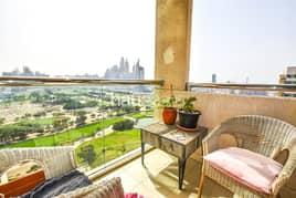 شقة في برج الغولف 2 برج الغولف ذا فيوز 1 غرف 75000 درهم - 5134532