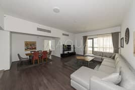Furnished 3 BR | Maid's Room | Sea View