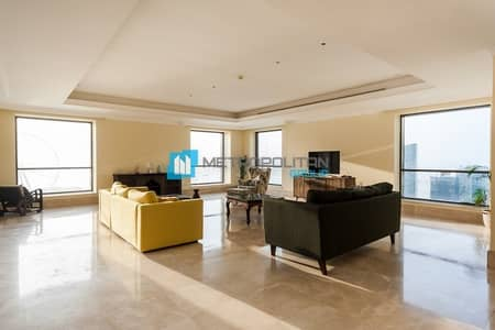 4 Bedroom Penthouse for Sale in Jumeirah Beach Residence (JBR), Dubai - Luxurious Penthouse With Panoramic Sea View