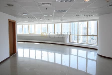 Office for Rent in Jumeirah Lake Towers (JLT), Dubai - Fitted office | Near Metro Station I SZR View