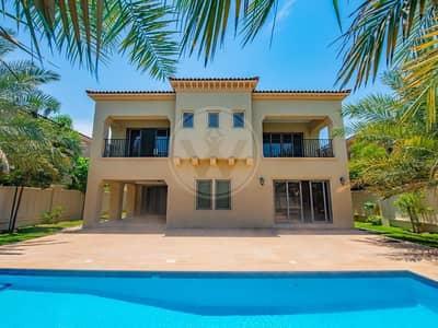 فیلا 4 غرف نوم للايجار في جزيرة السعديات، أبوظبي - Standalone villa + pool   Premium location