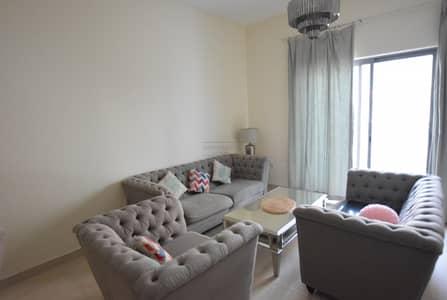شقة 1 غرفة نوم للايجار في الفرجان، دبي - Chiller Free furnished 1 Br With balcony