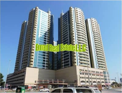 1 Bedroom Apartment for Rent in Ajman Downtown, Ajman - Horizon Towers | 1 Bed Hall | Parking | Very Very Big | 1436 sqft | Luxurious