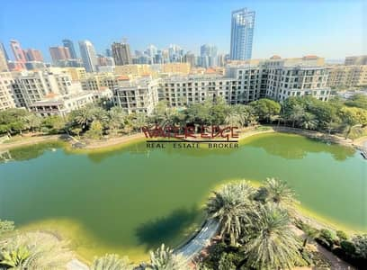فلیٹ 2 غرفة نوم للايجار في ذا فيوز، دبي - Huge 2BR with Full Canal View | Kitchen Equipped