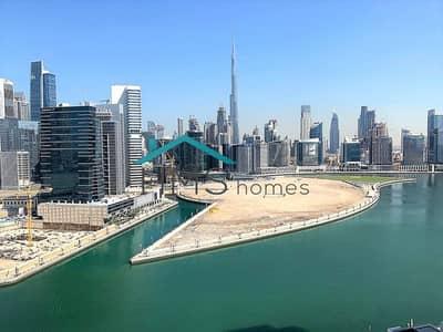 فلیٹ 1 غرفة نوم للبيع في الخليج التجاري، دبي - Exclusive | Amazing Burj Views | High Floor