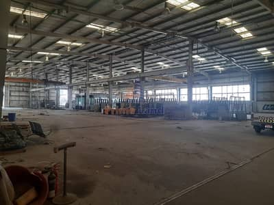 Warehouse for Sale in Mussafah, Abu Dhabi - ROI 13 % (150x150 land with warehouse - 3.5 Million )