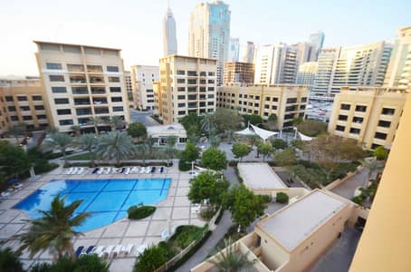 3 Bedroom Flat for Sale in The Greens, Dubai - Massive 3BR Study Overlooking POOL Rare in Market -