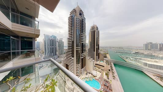 فلیٹ 2 غرفة نوم للايجار في دبي مارينا، دبي - 50% off commission   Upgraded   Marina & sea views