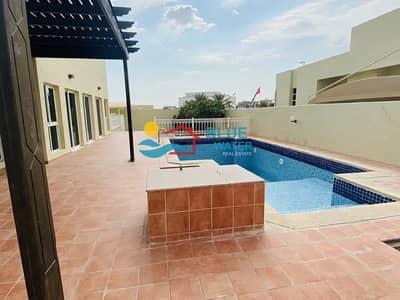 فیلا 3 غرف نوم للايجار في مدينة خليفة أ، أبوظبي - Lovely Garden Very Spacious 5 Bed Inside Compound In Khalifa City A