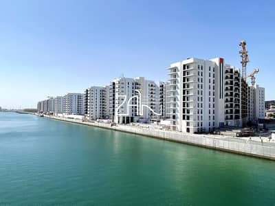 2 Bedroom Flat for Rent in Yas Island, Abu Dhabi - Pool & Canal View 2 BR Apt Brand New in Yas Island
