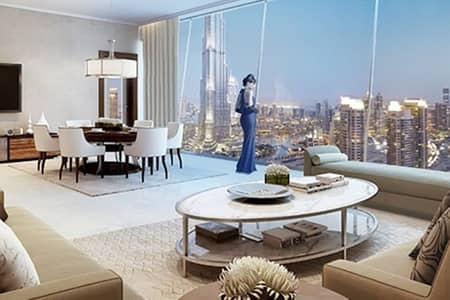 3 Bedroom Hotel Apartment for Sale in Downtown Dubai, Dubai - Burj and Fountain View|Resale below OP|Motivated
