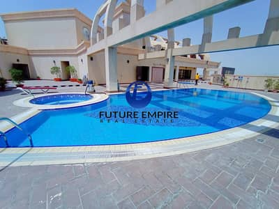 فلیٹ 3 غرف نوم للايجار في القرهود، دبي - 2 Months Free |  Chiller Free|  Fully Golf View | Lavish Apartment_ Double Parking