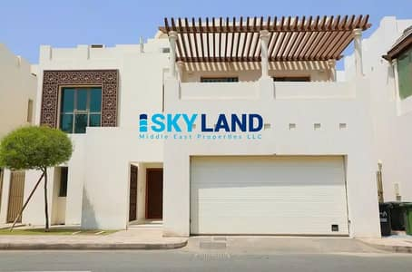 4 Bedroom Villa for Sale in Al Bateen, Abu Dhabi - Exclusive ! Modern 4BR+M with Private Entrance/Garden/Garage