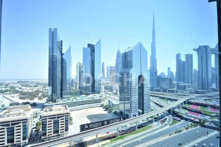 4 Bedroom Flat for Rent in Sheikh Zayed Road, Dubai - Massive 4 BR + Maids / Burj Khalifa and Downtown View