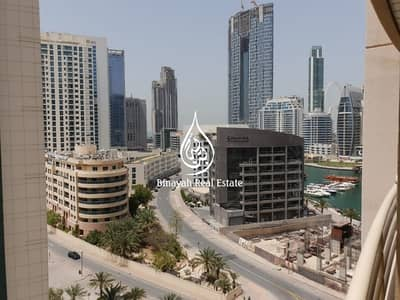 شقة 1 غرفة نوم للايجار في دبي مارينا، دبي - Marina View |One Bedroom Furnished |Pool & Gym