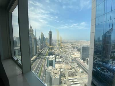 2 Bedroom Flat for Rent in Sheikh Zayed Road, Dubai - On High Floor | Chiller Free | Near Metro Station | Spacious 2BR