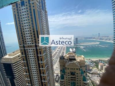 3 Bedroom Apartment for Rent in Dubai Marina, Dubai - Sea View | Chiller Free 3BHK+Maids(Attach bath)
