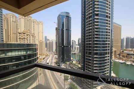 1 Bedroom Flat for Rent in Jumeirah Beach Residence (JBR), Dubai - Full Marina View | 1 Bedroom | White Goods