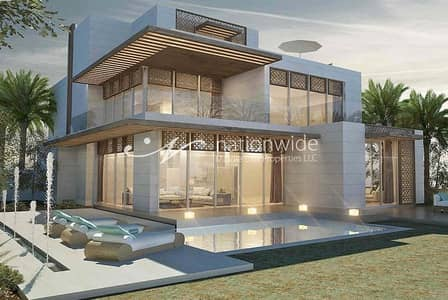 5 Bedroom Villa for Sale in Saadiyat Island, Abu Dhabi - Design Your Own Home And Lifestyle In This Villa