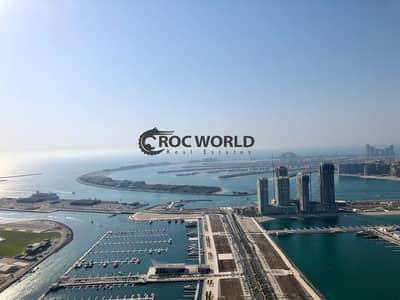 شقة 3 غرف نوم للايجار في دبي مارينا، دبي - Amazing 3BR + Maids | Well Maintained | Dubai Eye & Sea View