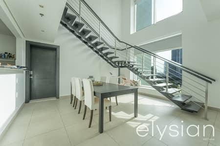 شقة 3 غرف نوم للايجار في تلال الجميرا، دبي - Partial Lake View |Excellent Condition |Duplex