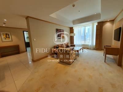 فلیٹ 2 غرفة نوم للايجار في شارع الشيخ زايد، دبي - Bills Inclusive I  Multiple Options I Short term