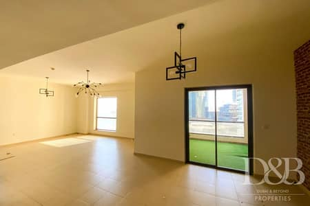 2 Bedroom Flat for Rent in Jumeirah Beach Residence (JBR), Dubai - Unfurnished | Vacant 2 Beds | Spacious