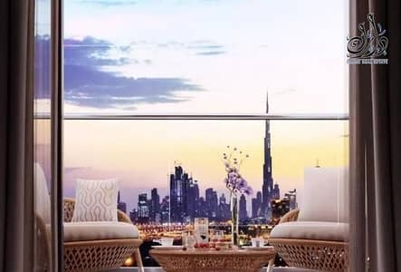 1 Bedroom Flat for Sale in Mohammed Bin Rashid City, Dubai - Apartment for sale with a view of Burj Khalifa and Dubai Creek in installments