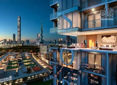 2 Bedroom Flat for Sale in Mohammed Bin Rashid City, Dubai - Apartment  for sale in Mohammed Bin Rashid City with views of Burj Khalifa and the water canal in installments