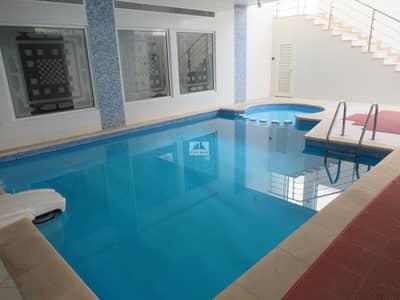 فیلا 5 غرف نوم للايجار في أم سقیم، دبي - MODERN 5BR+2 HALLS+MAIDS+PVT POOL IN DOOR+NEAR BEACH