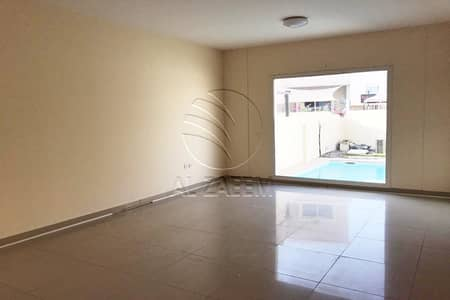 5 Bedroom Villa for Rent in Al Reef, Abu Dhabi - Hot Deal | Prime Location | Private Pool | Single Row