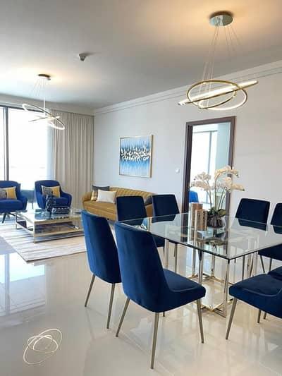 فلیٹ 3 غرف نوم للايجار في وسط مدينة دبي، دبي - Burj Facing fully serviced 3BR   Luxuriously Furnished & Maintained - Downtown