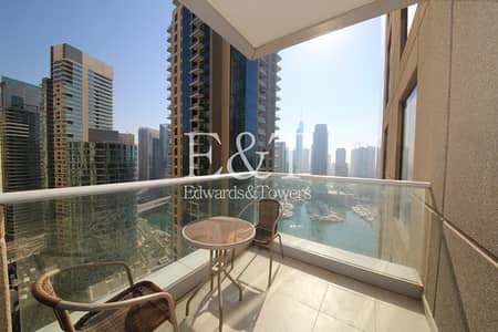 1 Bedroom Flat for Rent in Dubai Marina, Dubai - Exclusive: Available 1st August | High floor
