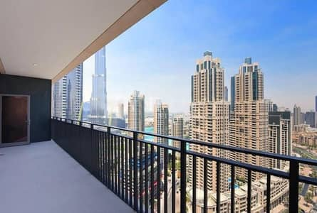 3 Bedroom Flat for Sale in Downtown Dubai, Dubai - Brand New 3 Beds + Maid | Tenanted I Burj Khalifa View