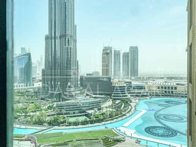 شقة 2 غرفة نوم للايجار في وسط مدينة دبي، دبي - FULL BURJ KHALIFA VIEW | HIGH FLOOR | BEST PRICE