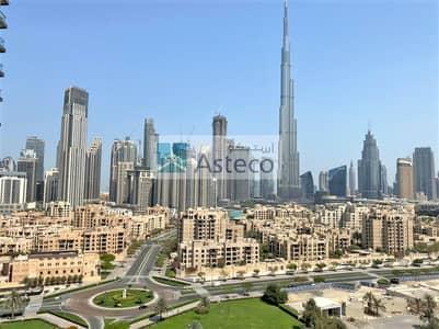 شقة 3 غرف نوم للايجار في وسط مدينة دبي، دبي - High Floor | 2 Parkings | Burj Khalifa View