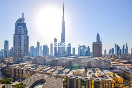 2 Bedroom Flat for Sale in Downtown Dubai, Dubai - Rented | 2 Bed + Study | Full Burj View