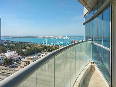 فلیٹ 3 غرف نوم للايجار في منطقة النادي السياحي، أبوظبي - No Commission I Spacious Unit I High Floor I Vacant