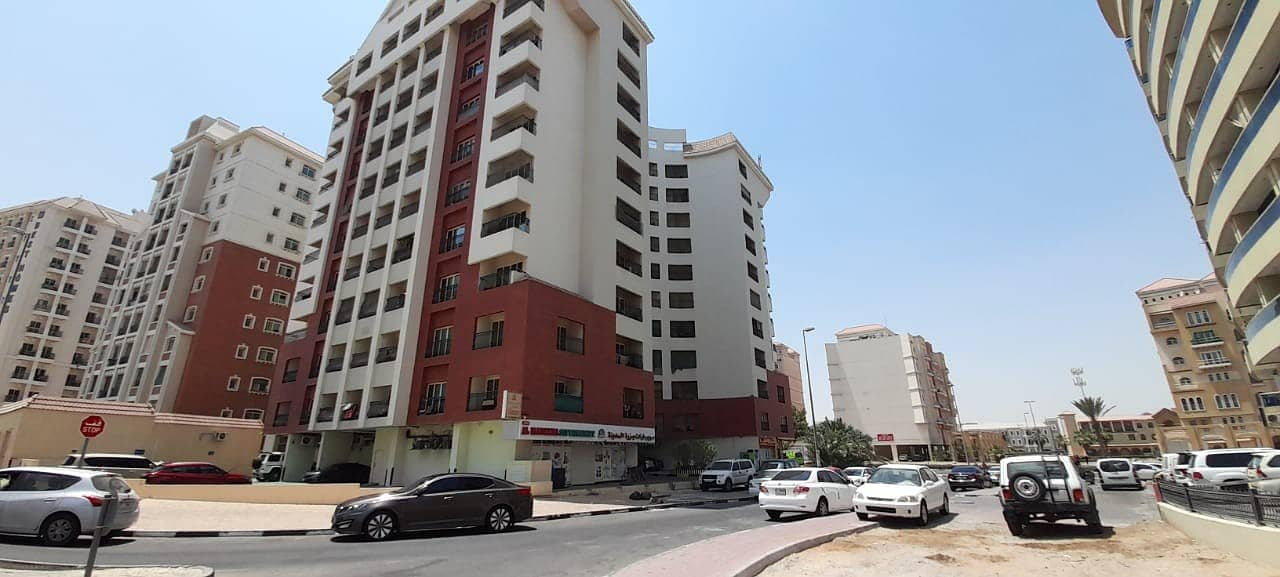 INTERNATIONAL CITY TRAFALGAR CENTRAL 1BHK FOR RENT 28000/- 4 CHEQUES