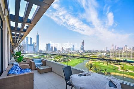 شقة 3 غرف نوم للايجار في التلال، دبي - 000+ sq. ft   Mid July