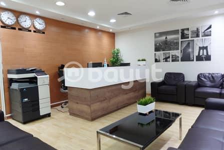 مکتب  للايجار في بر دبي، دبي - مکتب في برج المصلى الحمریة بر دبي 1500 درهم - 5121125